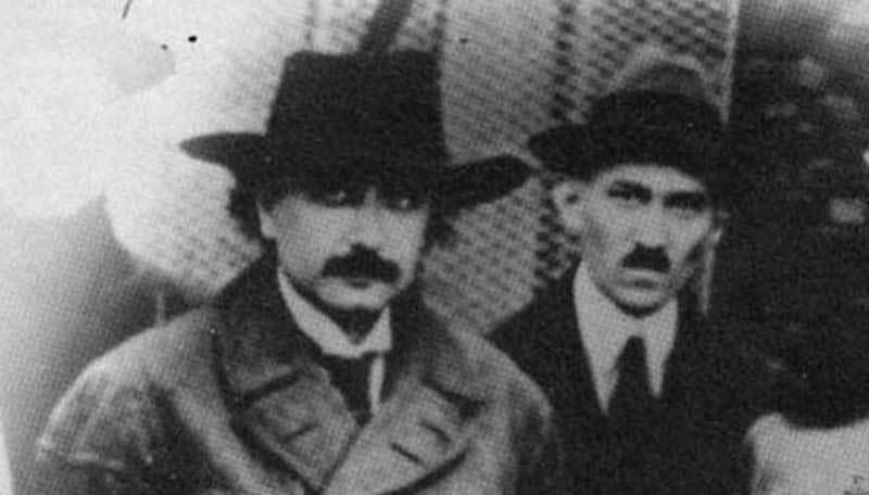 Альберт Эйнштейн и Никола Тесла