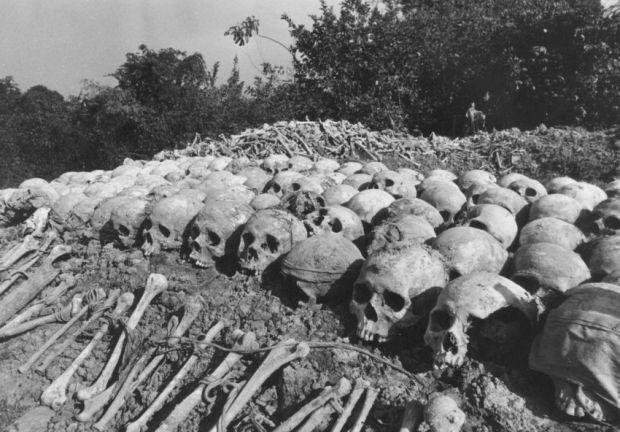 Массовые захоронения жертв режима Пол Пота