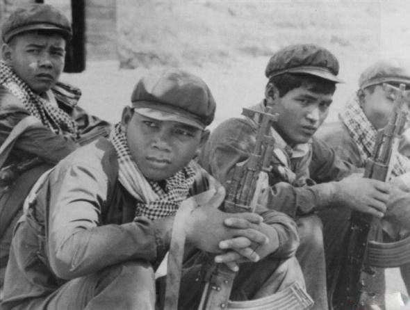 Юные солдаты Пол Пота