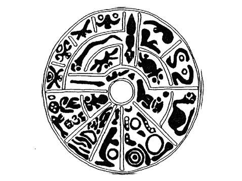 Изображения на генетическом диске