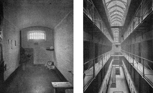 Тюремная камера, в которой Амелия Дайер провела свои последние дни