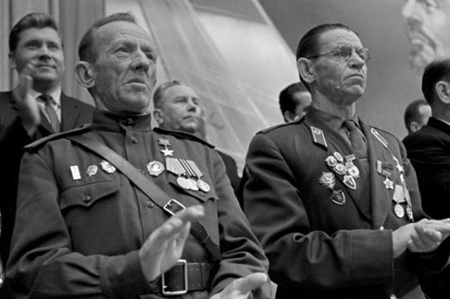 Герои-панфиловцы, ветераны Великой Отечественной войны