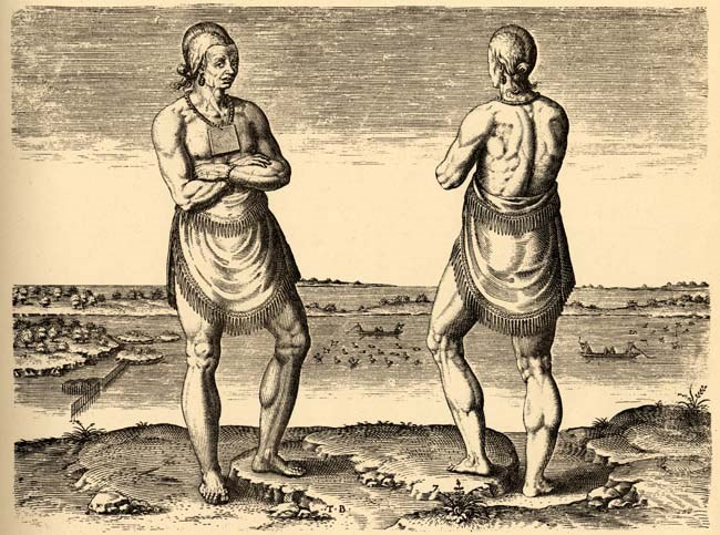 Индейцы считали себя хозяевами территории