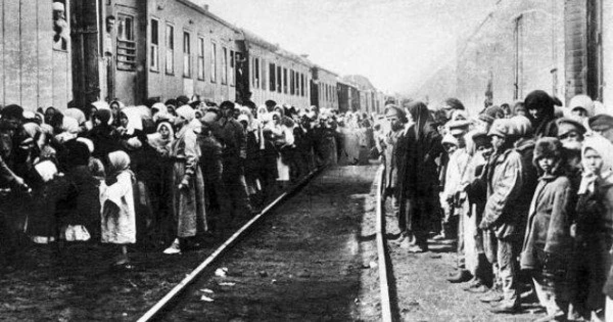 Вывоз населения Чечни