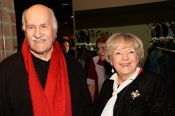 Иветта Капралова с супругом.