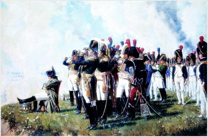 Испанцы в битве под Бородино