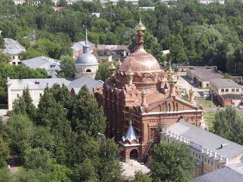 Монастырь Саровская пустынь. Место пострига Серафима Саровского