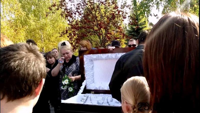 Похороны певца