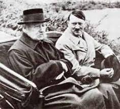 Празидент Гинденбург и А.Гитлер