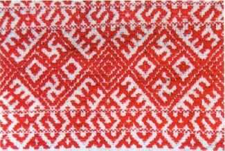 Славянская свастика на одежде