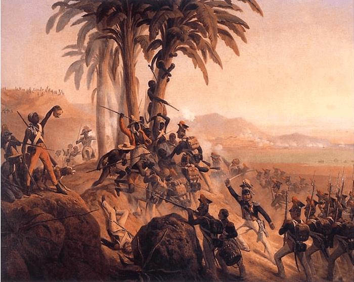 Темнокожие воины армии Наполеона.