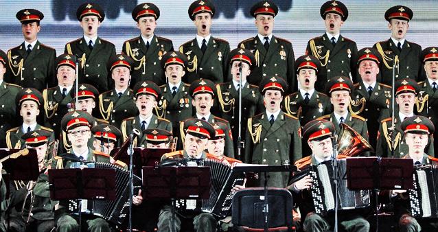 Ансамбль Александрова. Погибли 65 участников коллектива.
