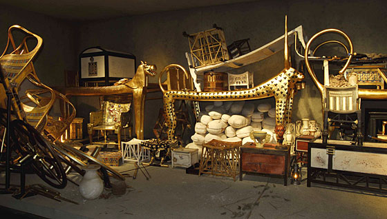 Артефакты из гробницы Тутанхамона