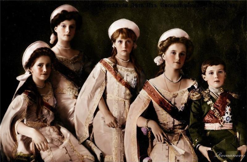 Дети Николая II