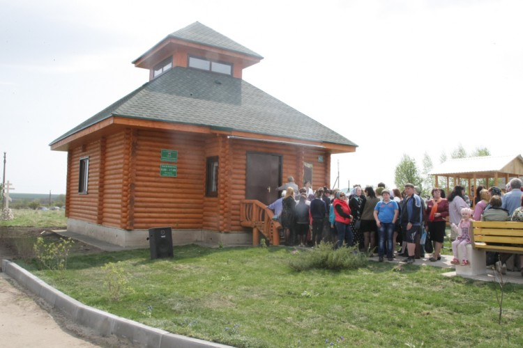 Дом-музей Святой Матроны в деревне Себино Тульской области