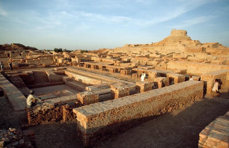 Древний индийский город