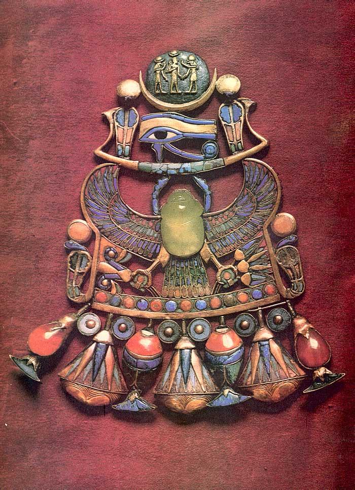 Украшения Древнего Египта  — обереги даже для мумий. Рисунки и фото.
