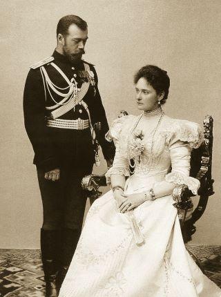 Император Николай II с Императрицей Александрой Федоровной