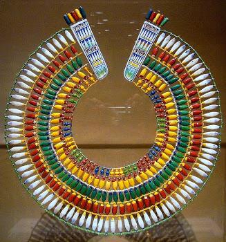 Ускх. Древнеегипетское ожерелье-воротник