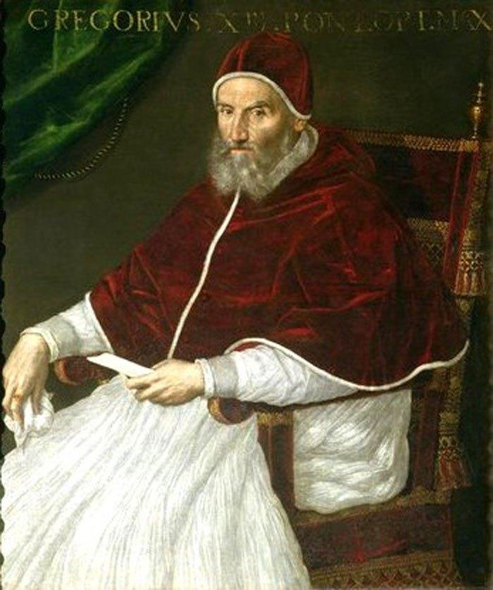 Папа Римский Григорий III, ввел в обиход Григорианский календарь