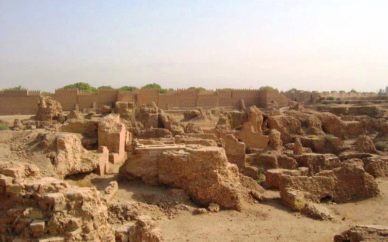 Руины древнего Вавилона