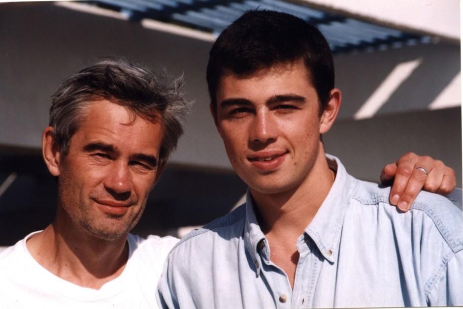 Сергей Бодров (младший) с отцом