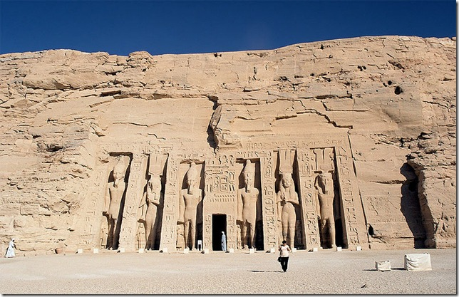Статуи Храма Абу-Симбела