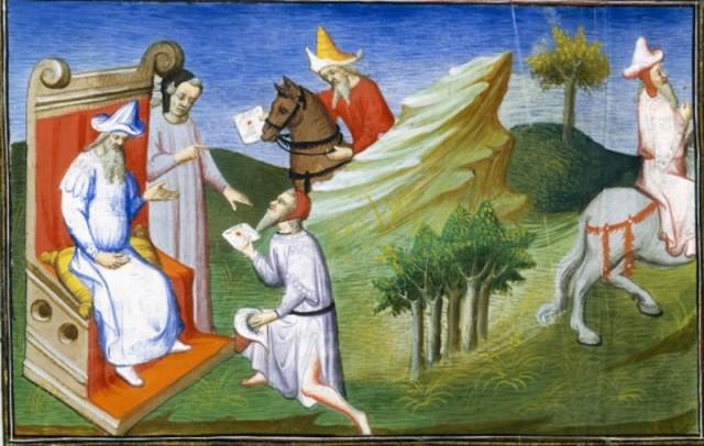 Таратары. Иллюстоация к книге Марко Поло
