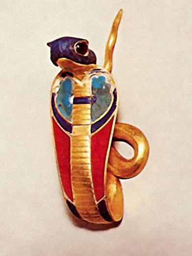 Урей - украшение в виде змеи на головном уборе фараонов