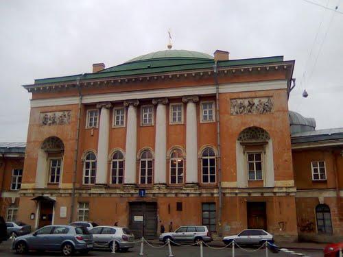 Конюшенный храм, в котором отпевали А.С. Пушкина