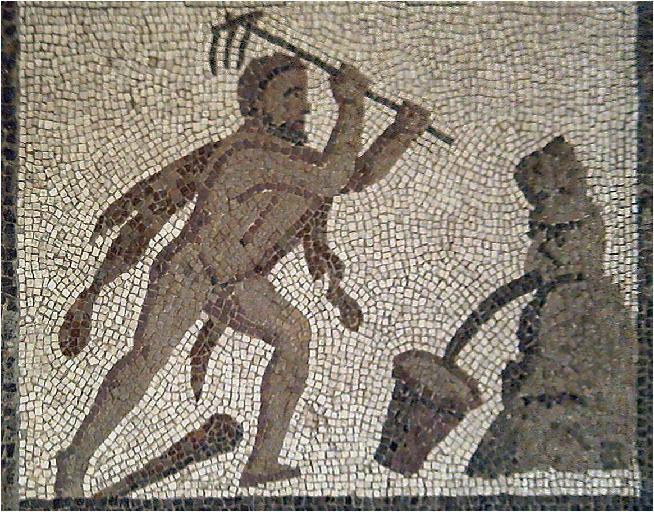 Авгиевы конюшни. Мозаика