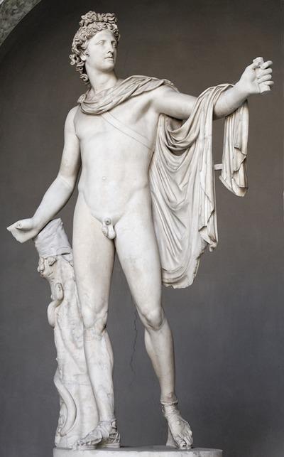 Аполлон Бельверлдийский древнегреческого скульптора Леохара