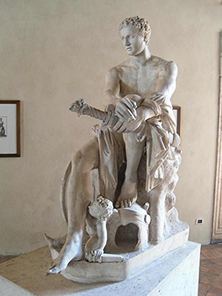 Арес. Статуя Бога войны, датируется 1-2 веком н.э.