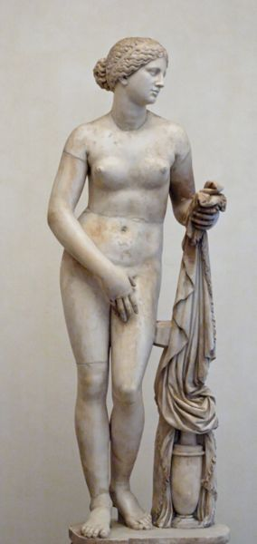 Афродита Книдская. Древняя скульптура