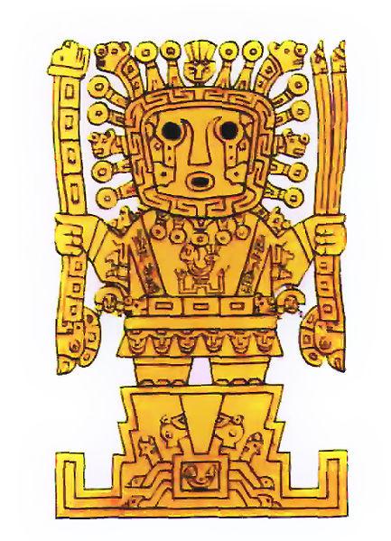 Виракоча - великий бог-создатель у инков