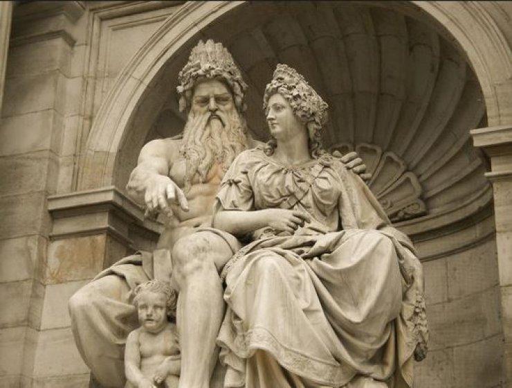 Гера и Зевс