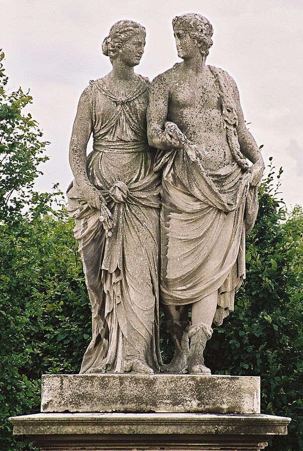 Дионис и Церера(богиня сельского хозяйства)