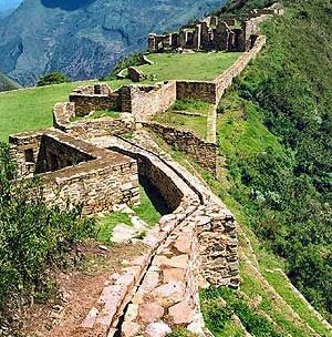 Дорога инков в горах