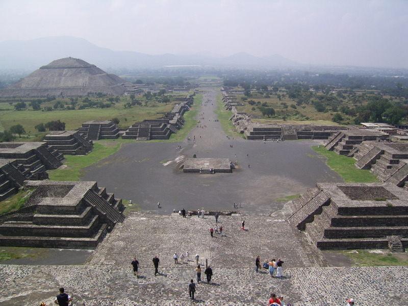 Древний город ацтеков. Мексика