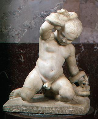 Младенец Геракл, убивающий змей