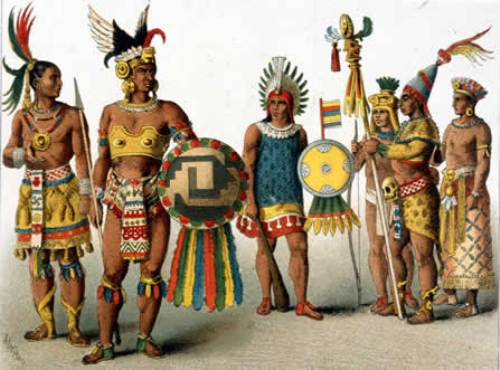Одежда ацтеков