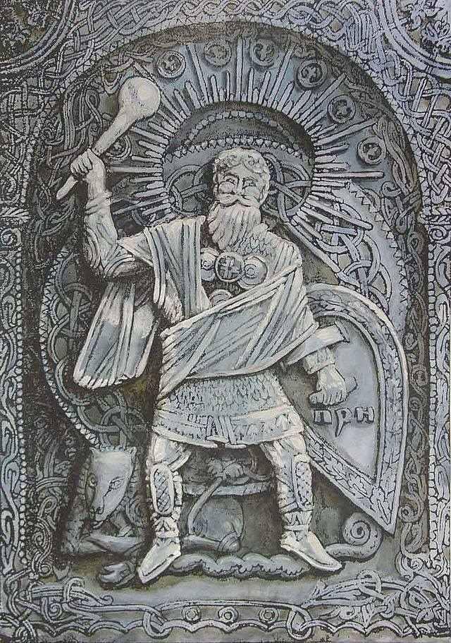 Перун - древнеславянский аналог Зевса