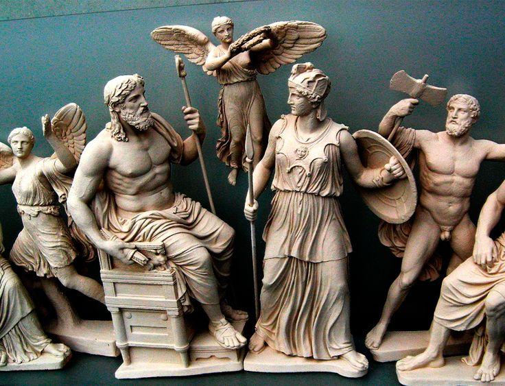 Мифология. Мифы Древней Греции (список)