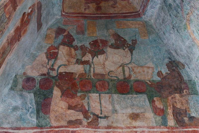 Фрески в Бонампаке