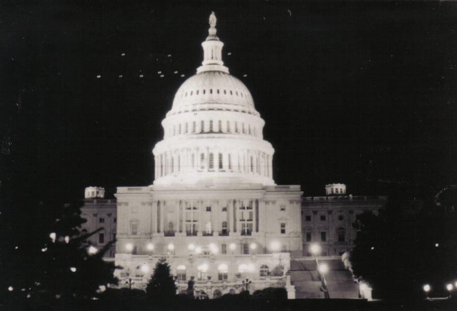 Вашингтонская карусель - множественные НЛО, наблюдавшиеся над столицей США 20 июля 1952 года