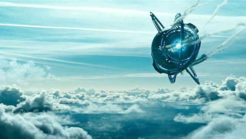 Корабль из фильма Притяжение
