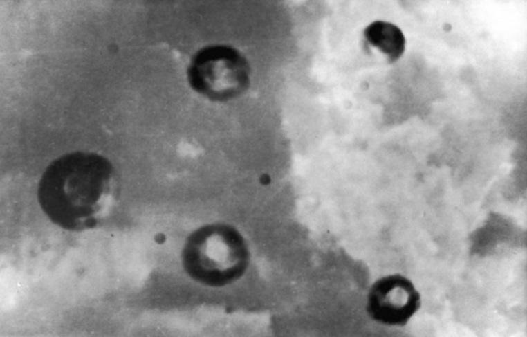 Летательные объекты над США в 1950 году, названные в прессе Летающими тарелками