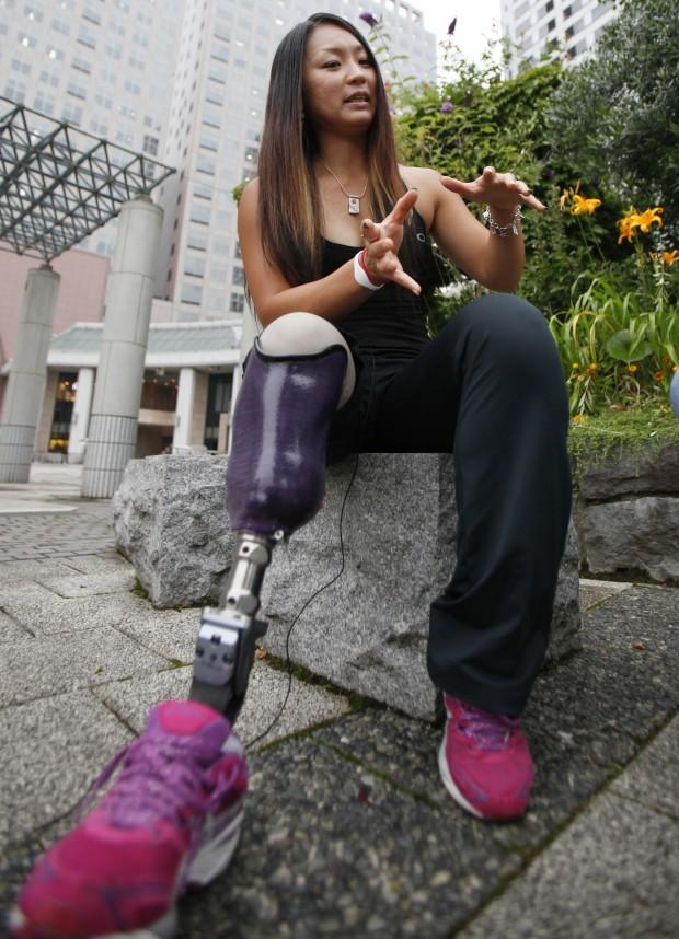 Майя Никаниши. Японская параолимпийская спортсменка