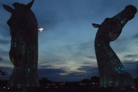 НЛО в Шотландии