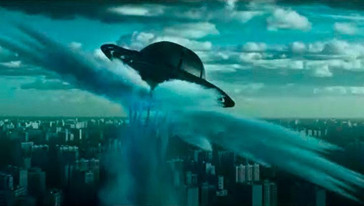 Притяжение - фильм об НЛО и вторжении на Землю